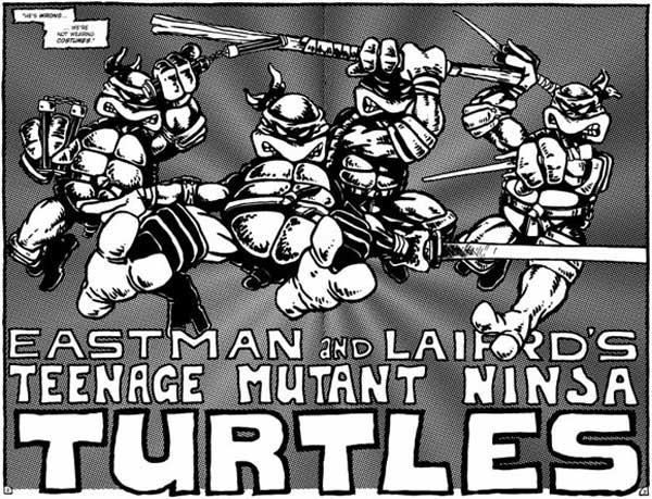 Cómic original de Ninja Turtles