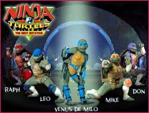 La quinta Tortuga Ninja