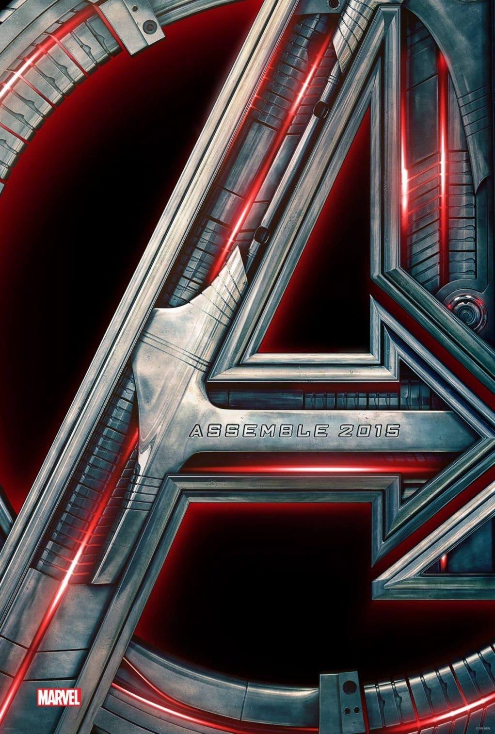 Poster oficial de Los vengadores: La era de ultrón