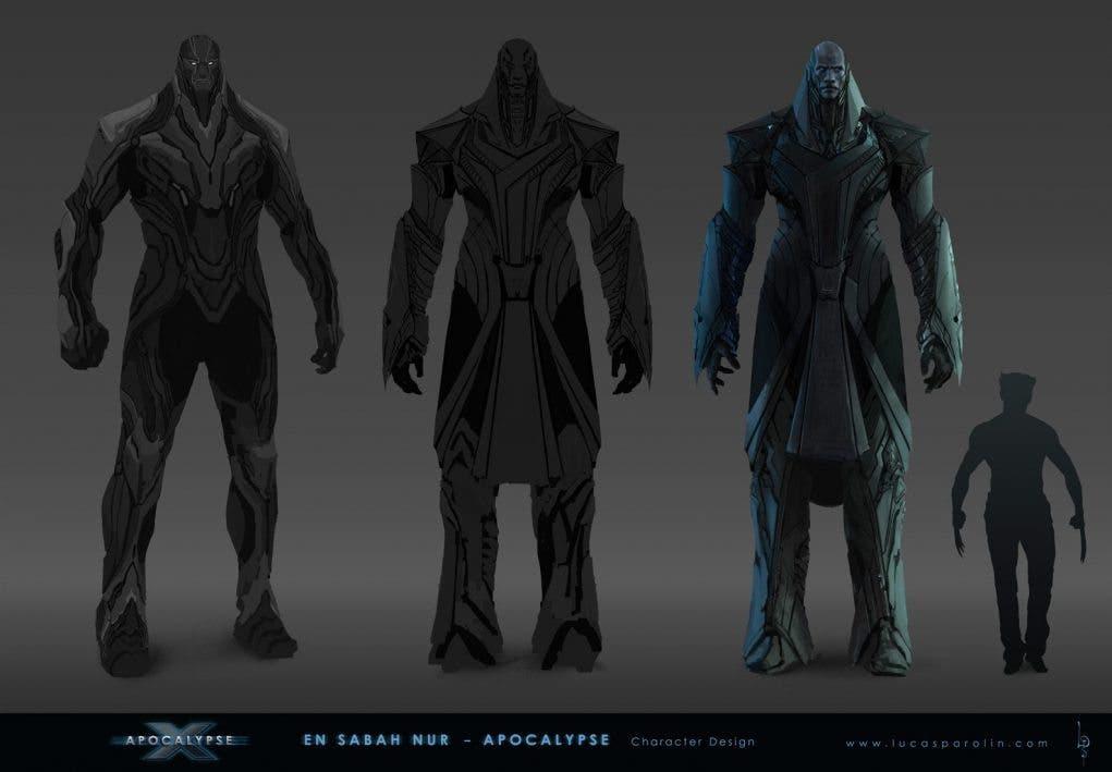 Concept art X-men: Apocalipsis