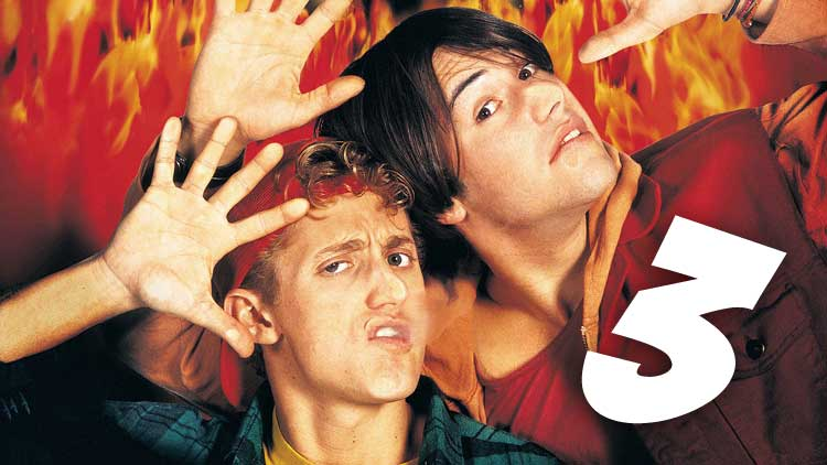 Keanu Reeves dispuesto a un Bill y Ted 3