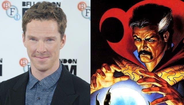Benedict Cumberbatch será el Doctor Extraño