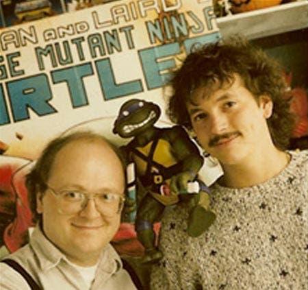 Kevin Eastman y Peter Laird, creadores de las tortugas