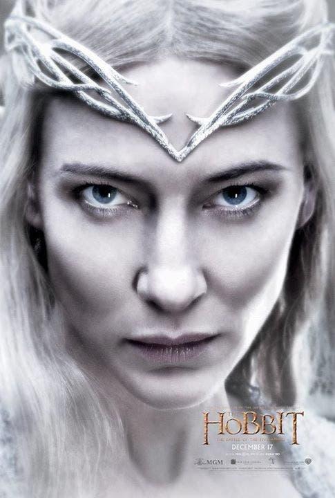 Cate Blanchett es Galadriel