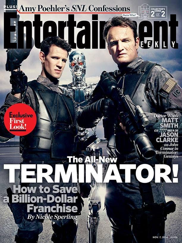 Portada de Entertainment Weekly protagonizada por Terminator Genesys