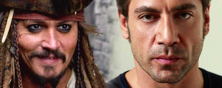 Javier Bardem podría ser el villano de Piratas del Caribe 5