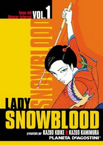 Portada del 'manga' 'Lady Snowblood'
