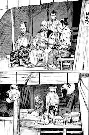 Una de las páginas de 'Hanzô. El camino del asesino'