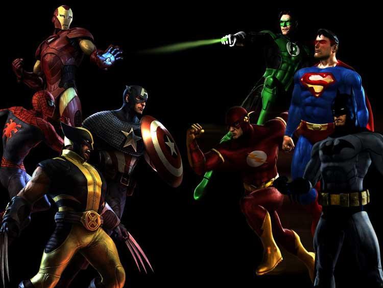 2015-2020 Comienza la guerra del superhéroe, Marvel vs DC