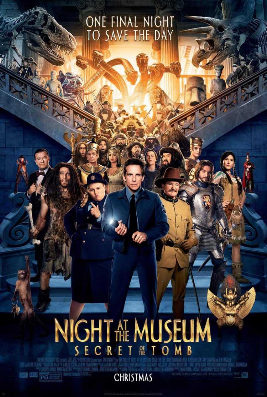 Nuevo póster de Noche en el museo 3: El secreto del faraón