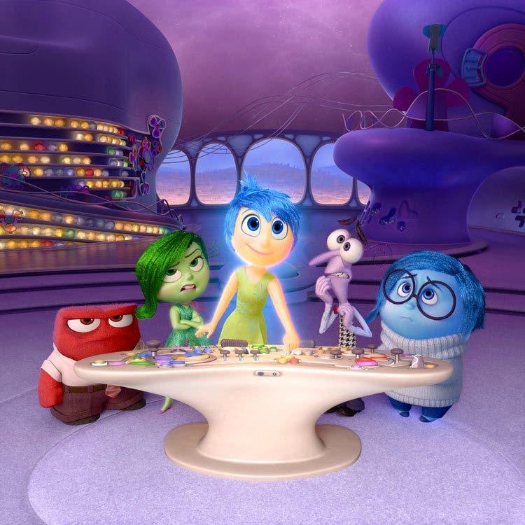 primera imagen de Inside Out de Pixar