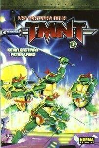 Primera portada del cómic de las tortugas ninja