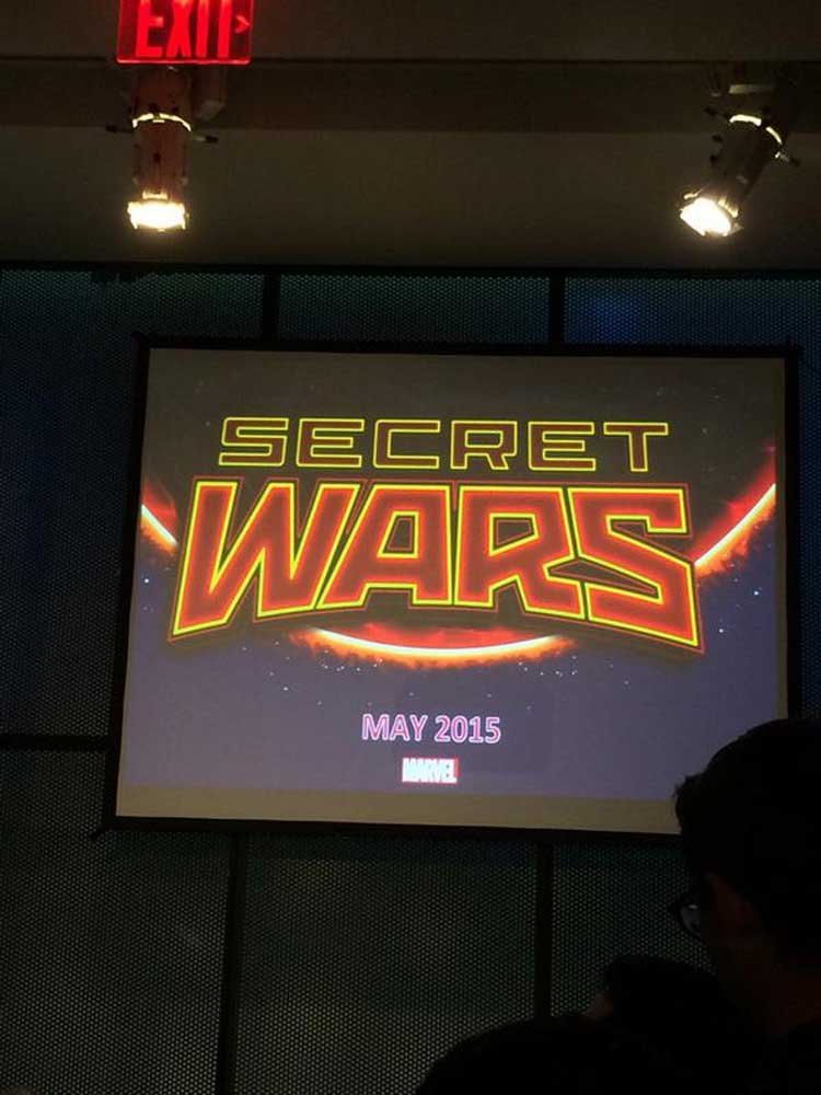 Marvel relanzará el cómic Secret Wars en 2015