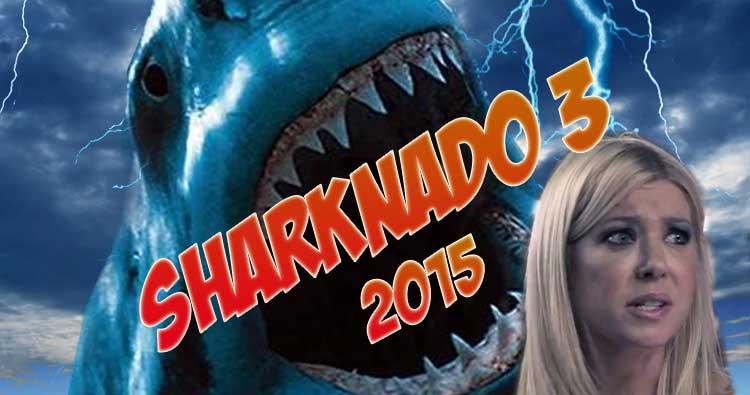 En Sharknado 3 veremos a los tiburones en un parque temático