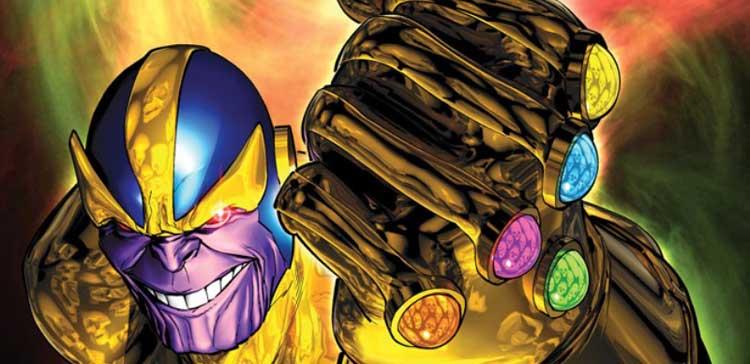 Thanos y las Piedras del Infinito