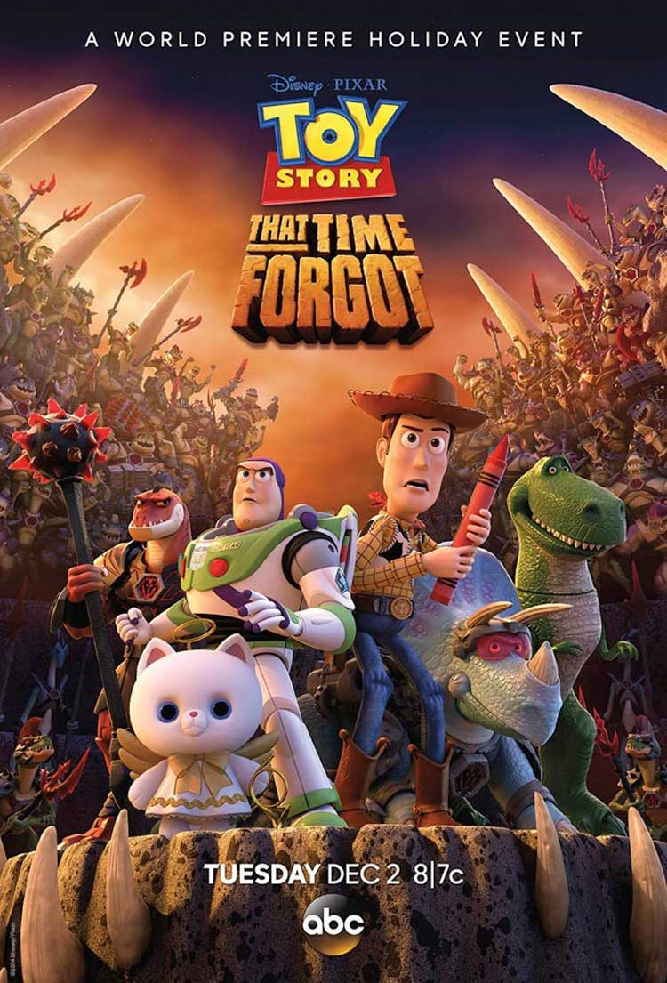 Póster de Toy Story That Time Forgot
