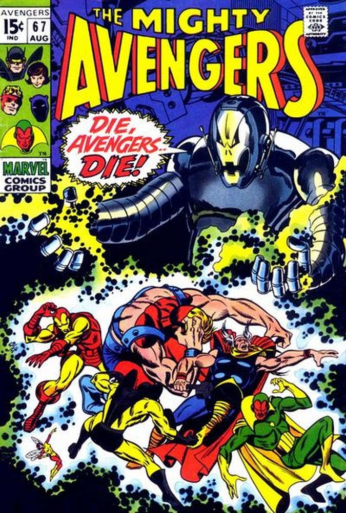 ultron Avengers 1967