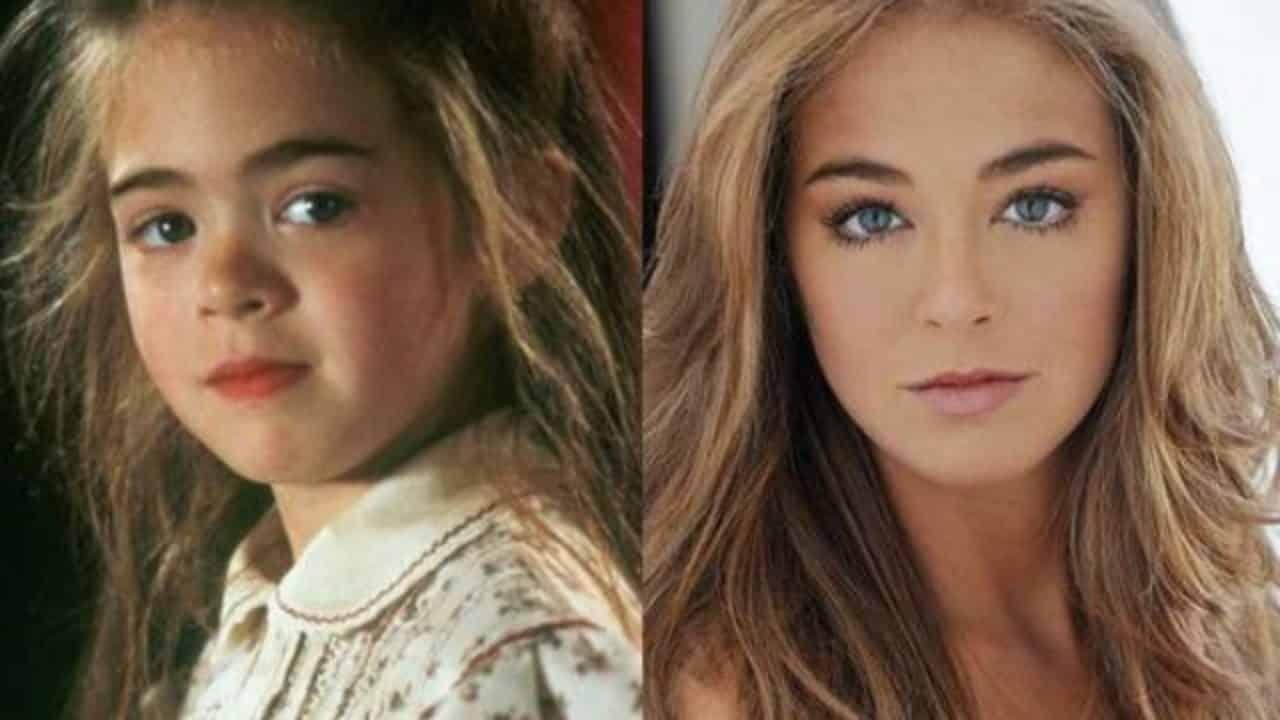 Jóvenes estrellas de Hollywood que creías desaparecidas. Amber Scott (Hook)