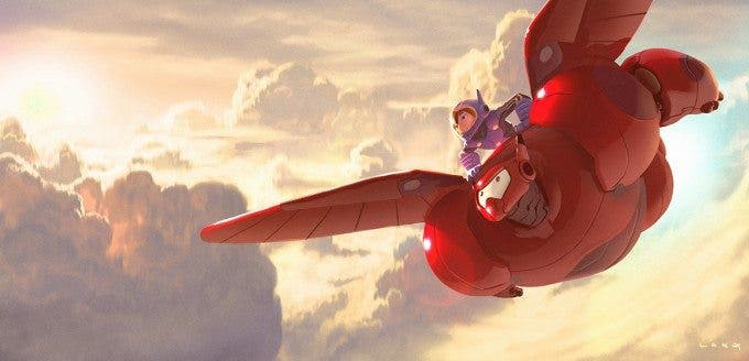 Disney Big Hero 6 Concept Art