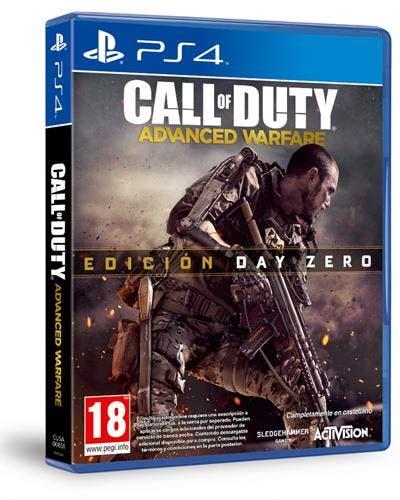 Carátula del videojuego 'Call of Duty: Advanced Warfare'