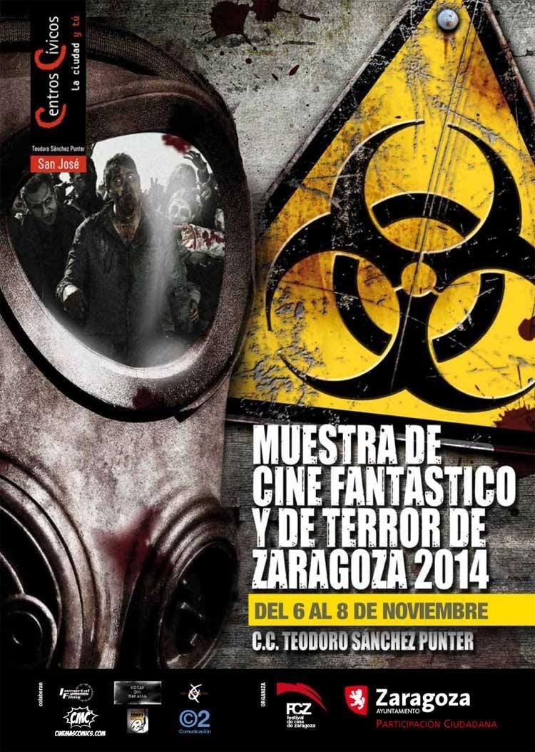 Cartel IV muestra de cine fantastico y de terror de Zaragoza
