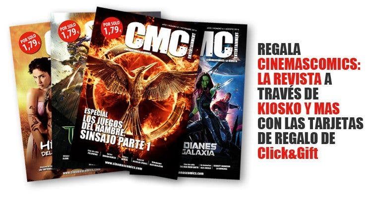 Cinemascomics la revista en kiosko y mas
