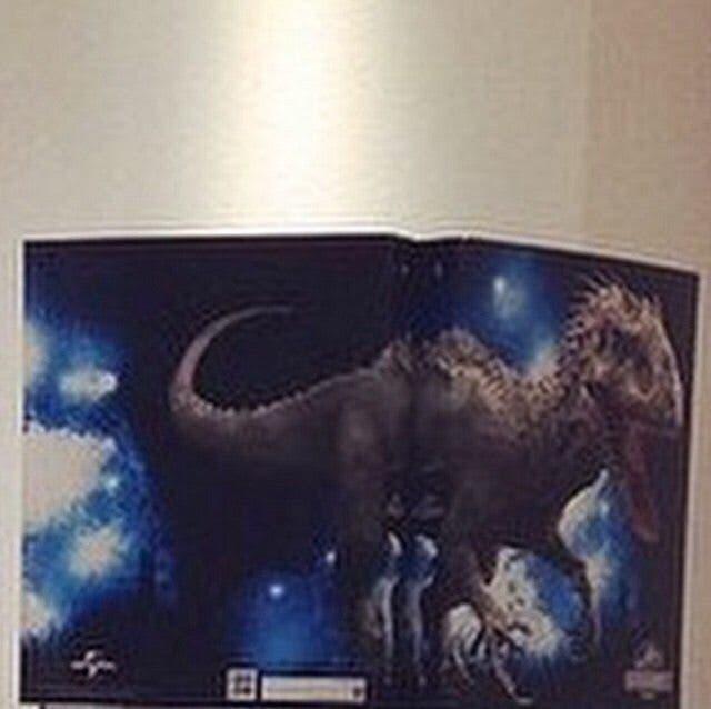 Filtrada la imagen del D-Rex el dinosaurio híbrido de Jurassic World