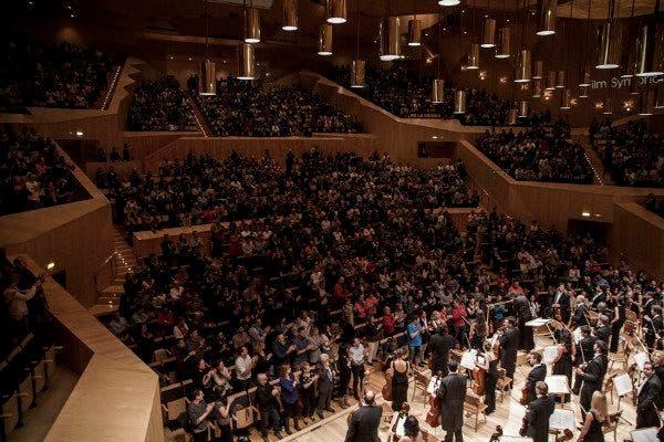 Imagen del concierto de la Film Symphony Orchestra en Zaragoza