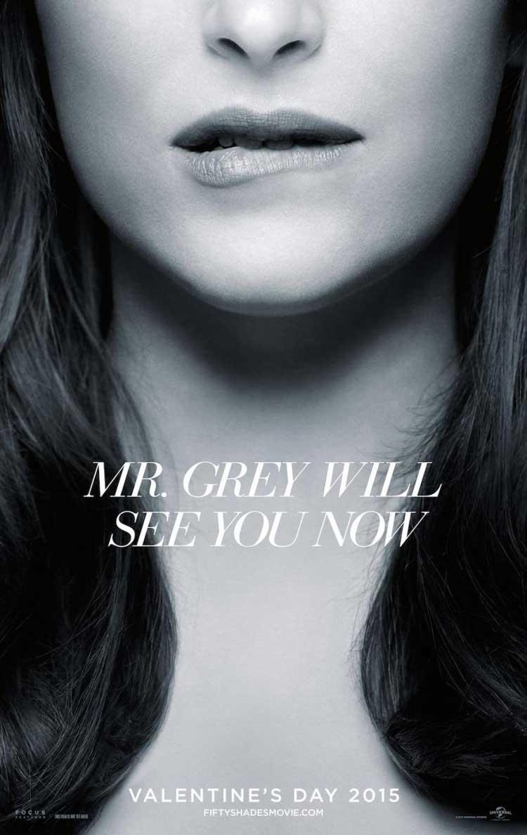 Nuevo póster de Cincuenta sombras de Grey