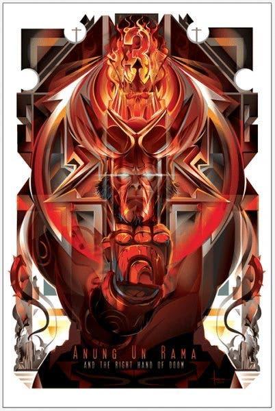 Carteles de cine Hellboy
