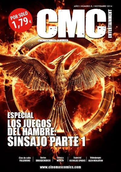 PORTADA cinemascomics la revista noviembre de 2014