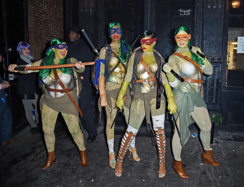 Rihanna Tortugas ninja