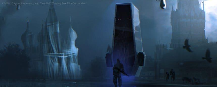 Concept art Sébastien Larroudé X-men: Días del futuro pasado