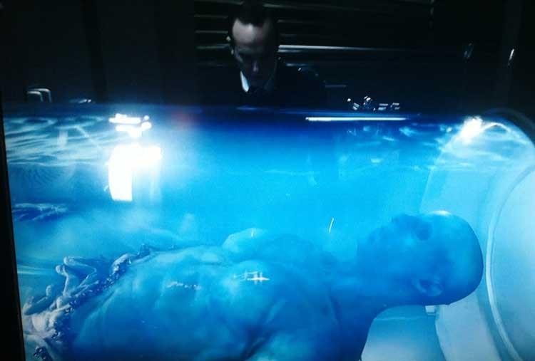 Spoiler: Revelada la identidad del alien azul de Agentes de S.H.I.E.L.D.