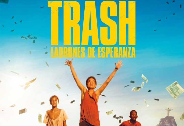Crítica de Trash, ladrones de esperanza: Dramática y conmovedora