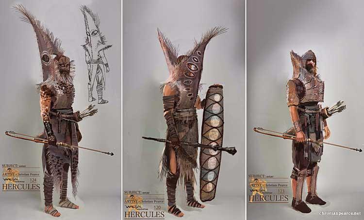 Concept Art de Hércules