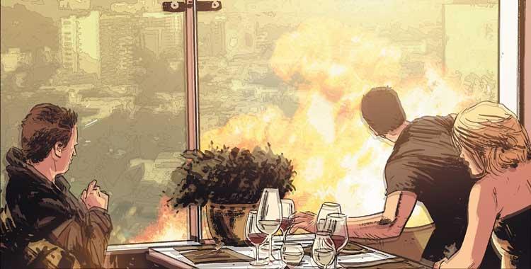 Marvel hace explotar a Los Cuatro Fantásticos en el cómic