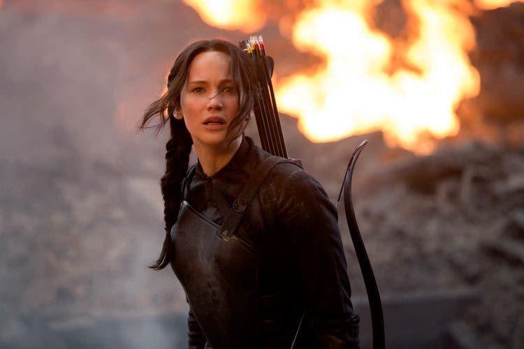 Jennifer Lawrence protagoniza Los juegos del hambre: Sinsajo Parte I