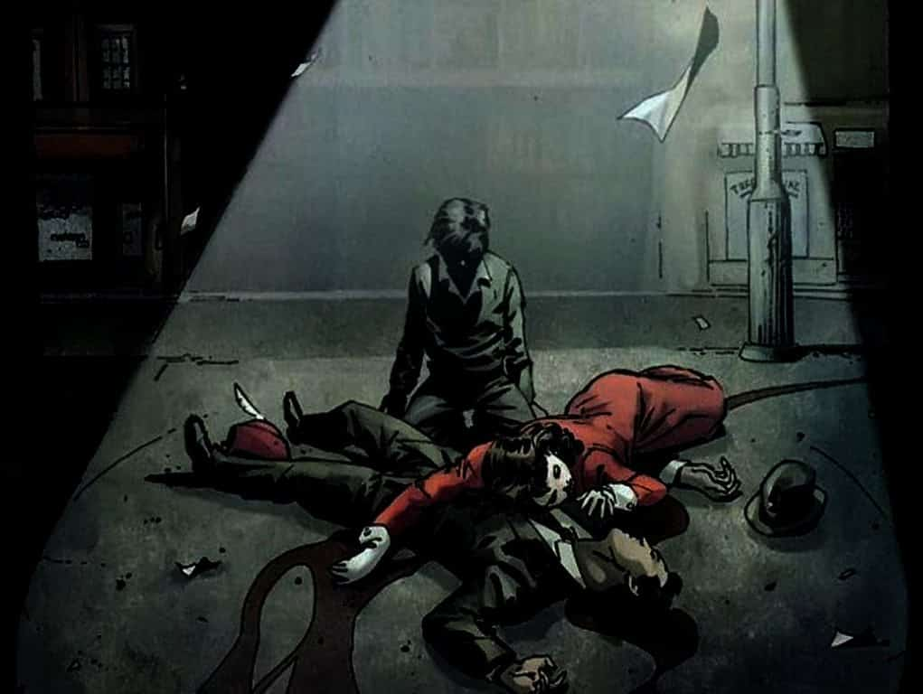 muerte padres de Batman