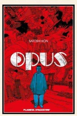 Portada del cómic Opus, publicado por Planeta Cómic