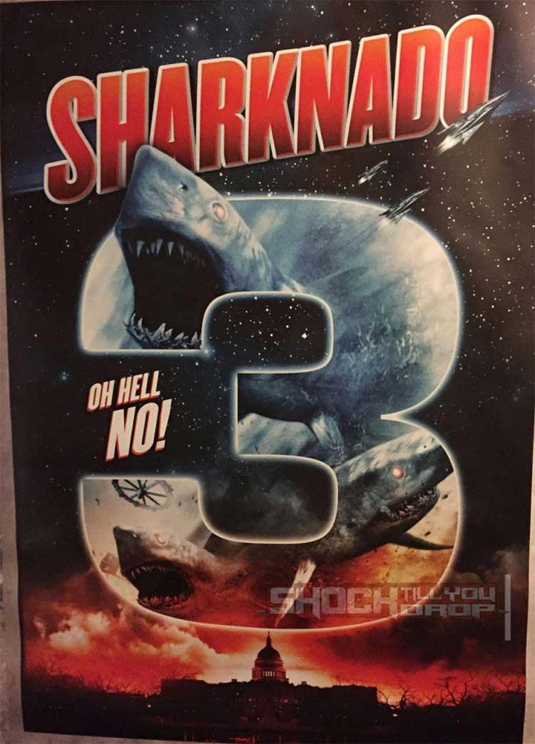Primer póster de Sharknado 3 ¡Tiburones en la Casa Blanca!