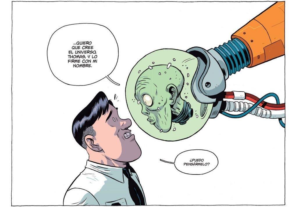 viñeta de Universo! de Albert Monteys