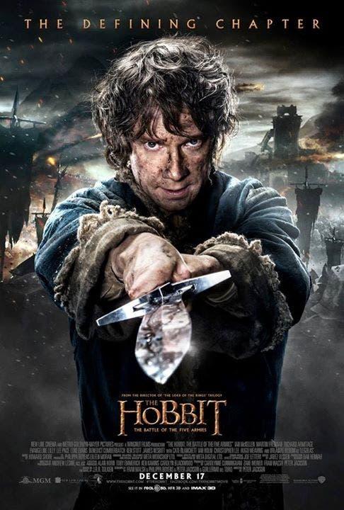 Cartel de 'El hobbit. La batalla de los cinco ejércitos'