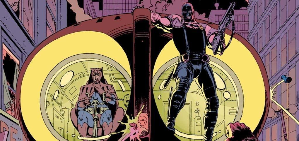 Dave Gibbons, dibujante de Watchmen