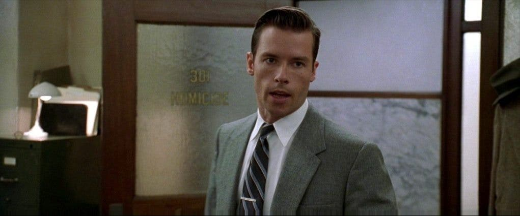 Guy Pearce protagonizó la película de cine negro 'L.A. Confidential'