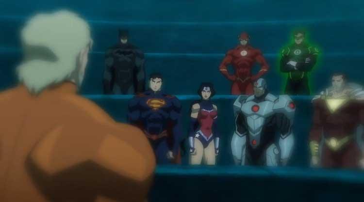 Crítica de La liga de la Justicia: El trono de Atlantis