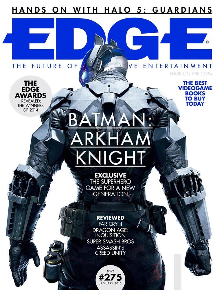 Portada de Edge Magazine con el villano de Batman: Arkham