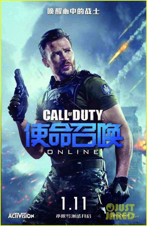 chris evans call of duty online-promo-01