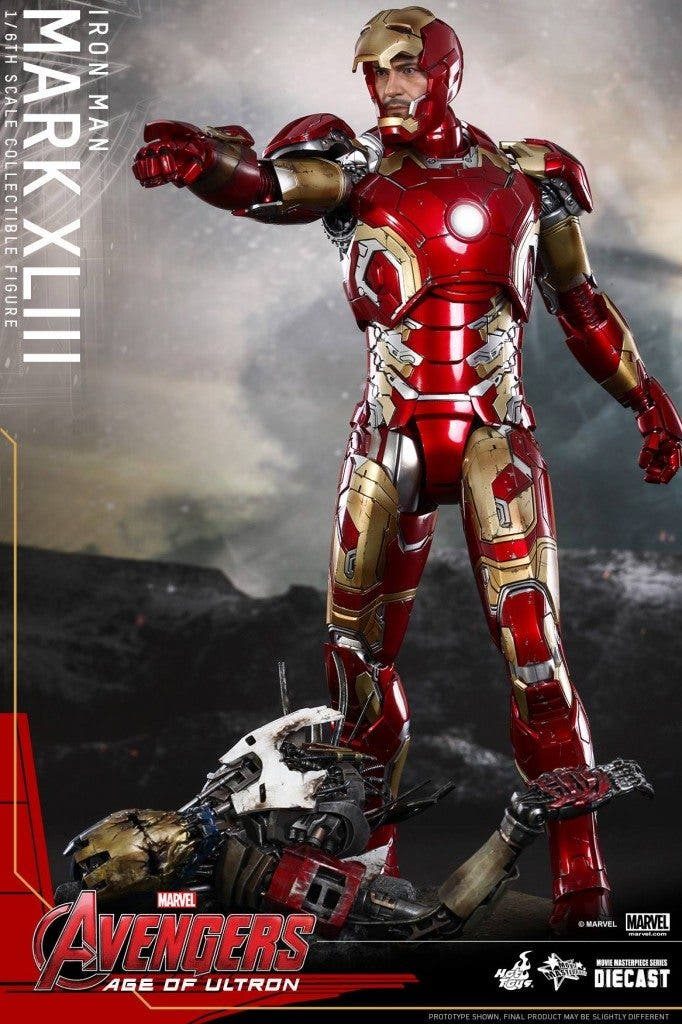 Figura de Hot Toy de Iron Man
