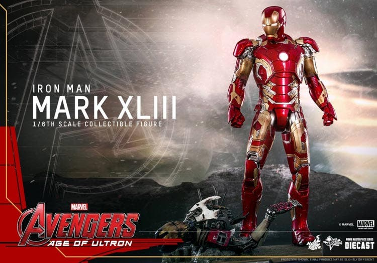 Armadura de Iron Man 3